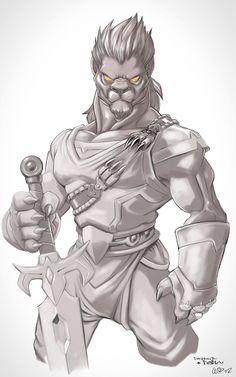 DarKyDRead - #Digitalpainting King Lord Lion   #digitalpainting #drawing #sketch #draw #lion   #dessin