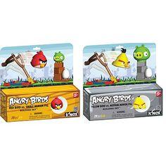 Angry Birds 2-pk. Red Bird Yellow Bird Building Sets by K'NEX