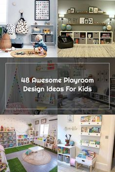 Playroom Design, Playroom Ideas, Photo Wall, Design Ideas, Bed, Awesome, Frame, Furniture, Home Decor