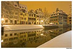 Strasbourg in winter.