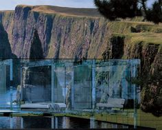 Transparent glass homes are opulent, exotic and simply extravagant. These glass houses not only reflect the excellence of architecture and technology, but also add a new dimension to the contemporary and edgy living spaces. There are some transparent glas