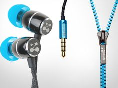 Tangle-Free Earbuds by Zipbuds - genius!!