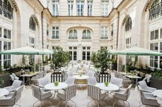 There is no place quite like Paris when it comes to art, architecture, food, fashion.and hotel interior design! These elegant and exquisite Parisian hotels are true gems. These are the most gorgeous hotels in Paris, after all! Hotel Paris, Paris Hotels, Paris Paris, Paris Restaurants, Paris City, Palaces, Crillon Paris, Elite Hotels, Rosewood Hotel