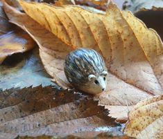Hedgehog Bead by Dit