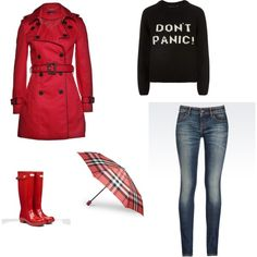 A fashion look from March 2015 featuring woven top, tall coats and dark wash jeans. Browse and shop related looks. Rainy Saturday, Dark Wash Jeans, Fashion Looks, My Style, Coat, Happy, Jackets, Shopping, Down Jackets