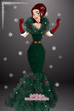 Christmas Tree Chic by Fiona3180 ~ Disney Princess Maker