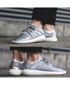 add3a01941d5 Adidas Tubular Viral Metallic Silver White Shoes