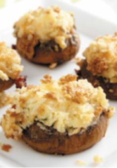PHILLY Stuffed Mushrooms – Ready for the oven after just 20 minutes of prep, this easy appetizer recipe is sure to be a fan favorite at your next game day get-together.