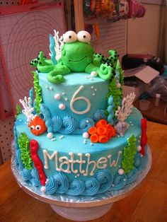 Under the Sea Cake  Cake by Kennedy Cakes - Glynnis Kennedy