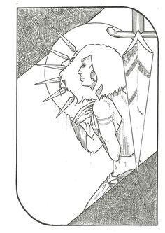 Project to myself. I draw tarot cards and my friends are used as inspiration models. Each picture...