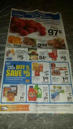 Upcoming Kroger Mega Event 09/03/14 - MyLitter - One Deal At A Time