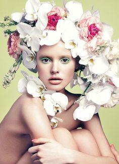 Paige Reifler for Elle Vietnam April 2014 by Stockton Johnson  [Beauty]