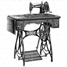Maquina de coser transfer