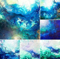 ARTIST: Emma Lindstrom, BIG IDEA: Light, evoke emotion - hope, MEDIA: Mixed - acrylic, spraypaint, and marker