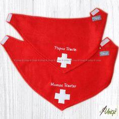 Hundehalstuch Schweiz - ideal z.B. für Berner Sennenhunde