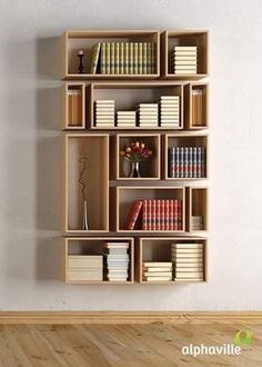 45 DIY Bookshelves To Inspire Your Next Home Project. Make Your Own  Homemade Bookshelf From A Single Shelf Or Bookcase. This DIY Is Added  Storage Or Stylish ...