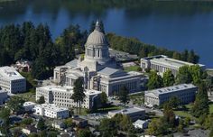 Capitol campus aerial, 2003 | Photo courtesy of the Washington State Legislature