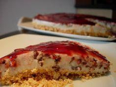 Receita Sobremesa : Cheesecake light de framboesa de Patanisca