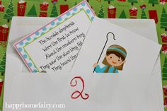 The 12 Days of Christmas – A Celebration of the Nativity (FREE Printables!) | Happy Home Fairy
