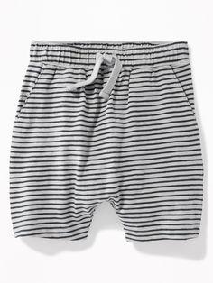Striped Slub-Knit Jersey Shorts for Toddler Boys|old-navy