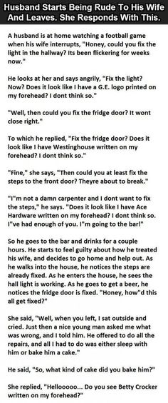 Life quote : Life : Husband Starts Arguing With His Wife But Her Response Is Hilarious funny jokes story lol funny quote funny quotes funny sayings joke hilarious humor stories marriage humor funny jokes