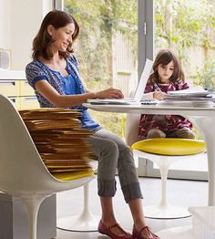 6 tricks to turn your home into a home office and balance life as a work-at-home parent: http://www.parents.com/parenting/work/life-balance/work-at-home-mom-advice/?socsrc=pmmpin130305pttHomeOffice