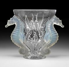 glass work by rene lalique - Google Search