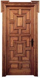 Puertas rustica