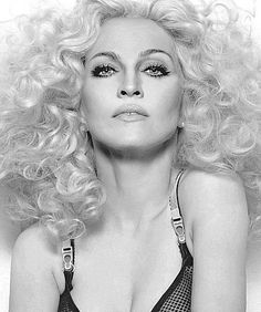 Madonna with Diana Ross hair