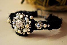 "Charm Bracelets – Braided Bracelet ""Black Prince"" – a unique product by Cheka on DaWanda"