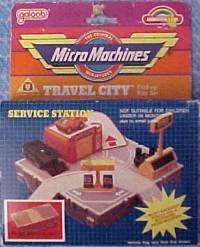 Micro Machines service station