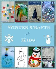 Winter Crafts for Kids: Indoor & Outdoor Winter Fun