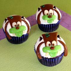 Franken-Goofy Cupcakes