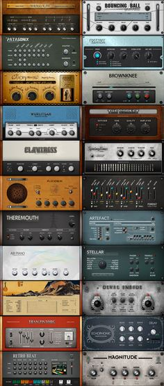 Love this rack - Instruments & FX by Reaktor #synth #fx