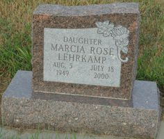 Marcia Rose Lehrkamp (1949 - 2000) - Find A Grave Photos