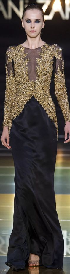 Fall 2018 Haute Couture Rani Zakhem Spring Fashion, High Fashion, Autumn Fashion, Formal Wear, Formal Dresses, Glamour, Couture Collection, Fall 2018, Evening Gowns