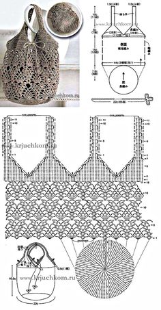 Crochet bag 341077371783214890 - Crochet pouch Source by dmstrsly Free Crochet Bag, Crochet Pouch, Crochet Market Bag, Crochet Bags, Diy Crafts Crochet, Crochet Gifts, Crochet Projects, Crochet Diagram, Crochet Chart