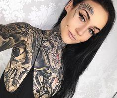 Monami Frost ❄️ #tattooswomensfaces