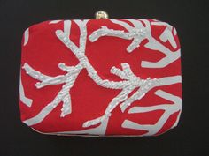 TINA | EMBROIDERED CORAL by PETUNIA
