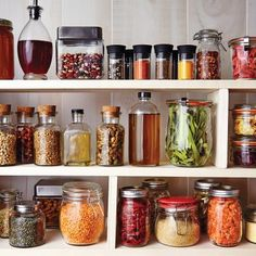 Healthy Pantry Essentials Keeping your pantry well stocked with everyday staples and healthy essenti Organizing Ideas, Diy Organization, Calorie Dense Foods, Fat Foods, Pantry Essentials, Whole Food Diet, Eat Smart, Cooking Light, Nutritious Meals