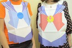 Sailor Moon Paper Bibs