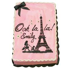 Eiffel Tower | Cakes Decorated - Travel | Deerfields Bakery