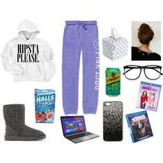 """""""Sick Day Outfit"""" by kaylaaareaserrr on Polyvore"""