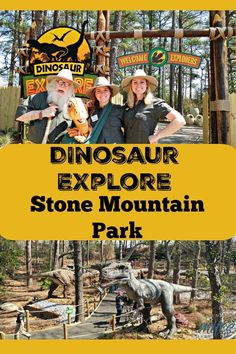 Stone Mountain Park's newest attraction, Dinosaur Explore, opens on March 30th! It's the perfect Spring Break outing for your favorite dinosaur fan!