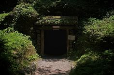 石見銀山遺跡の入り口(島根) Entrance of Iwami Ginzan Silver Mine, Shimane, Japan