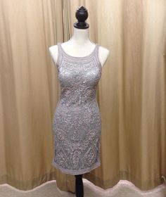 Battenburg lace style cocktail dress - in stock