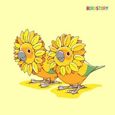 Birdstory illustration. Haven't found artist name yet. So cute.
