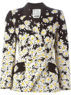 Moschino Vintage Daisy Print Jacket - A.n.g.e.l.o Vintage - Farfetch.com