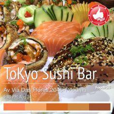 Suas noite de Sexta ja tem destino certo no melhor Sushi da cidade!! Venha nos fazer uma visita ou peça pelo 991440401(whats) VAI FICAR NA VONTADE??? #tokyosushirr #sushi #sushilovers #salmonsashimi #tataki by tokyosushirr