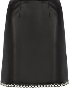 Dorothy Perkins Womens Black PU Eyelet Hem Mini Skirt- Black Black PU mini skirt with silver eyelet hem detail. Approx length:46cm 100% Polyurethane. Machine washable. http://www.comparestoreprices.co.uk/january-2017-9/dorothy-perkins-womens-black-pu-eyelet-hem-mini-skirt-black.asp